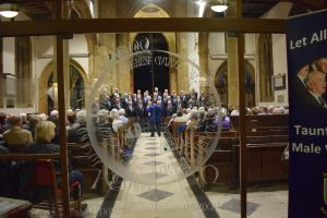 Taunton Deane Male Voice Choir Concert at The Minster