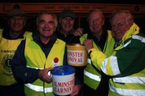 Collecting at Ilminster Carnival