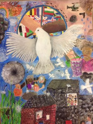 Winning Peace Poster from Swanmead
