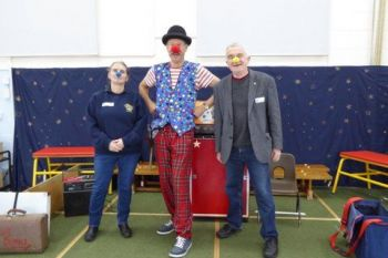 Professor Bumble at Greenfylde School