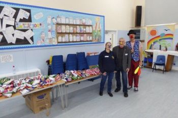 Profesor Bumble and Lions at Greenfylde School