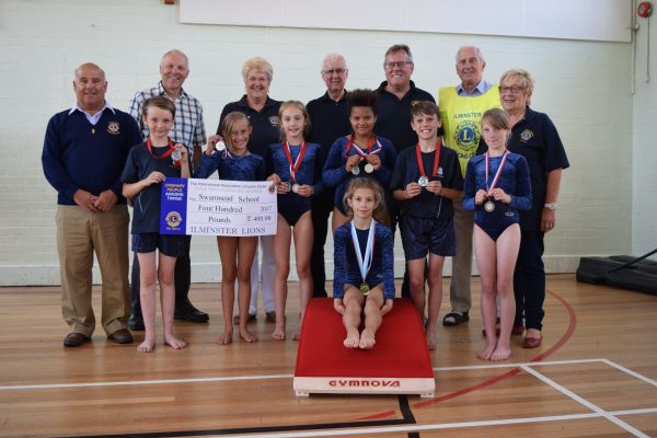 New equipment for Swanmead gymnasts